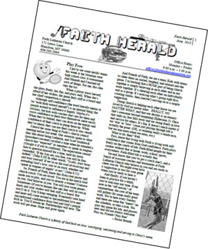 Faith Herald Newsletter