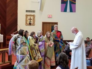 Quilts And Blessing For FLC Seniors