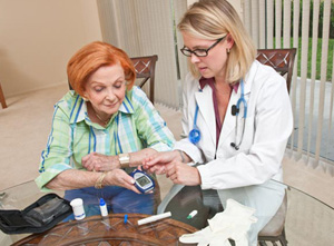 In-home health care folks are remembered.